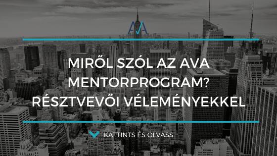 Miről szól az AVA Mentorprogram?