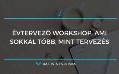 Évtervező workshop, ami sokkal több, mint tervezés