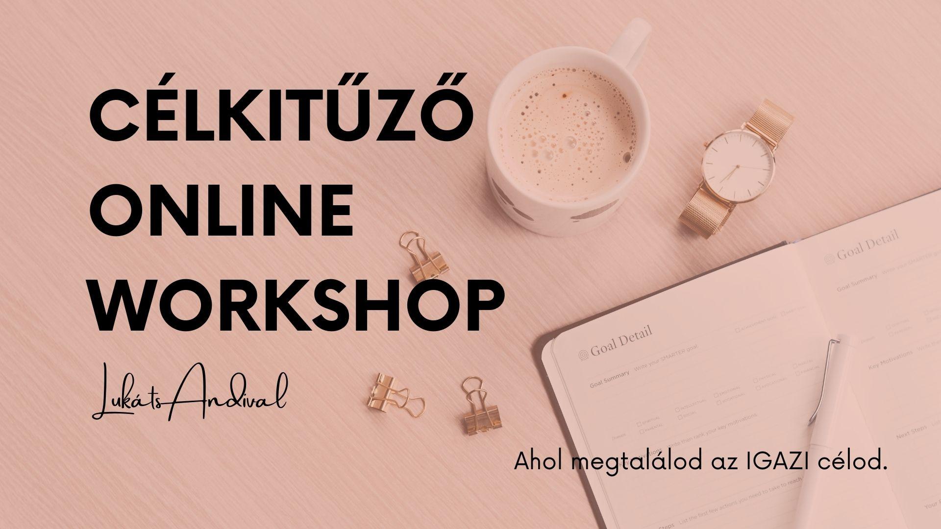céltervező workshop tréning Lukáts Andival